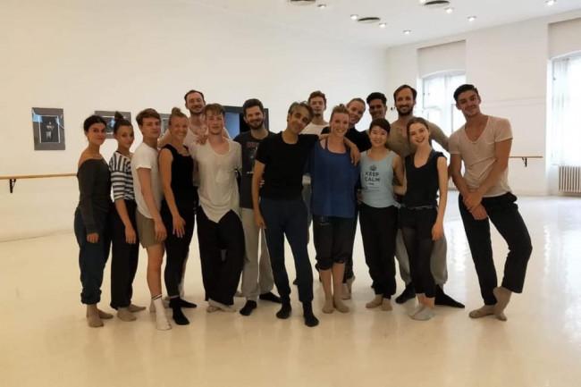 Raza Hammadi at Ballet Pécs