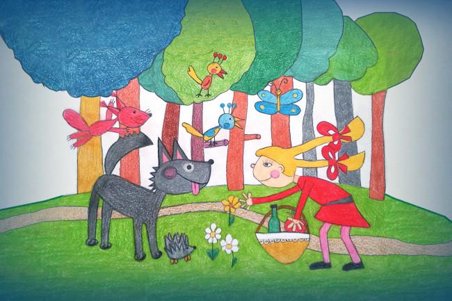 Piroska és a farkas - bemutató 09. 15.